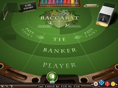 Baccarat Pro Lage Inzet